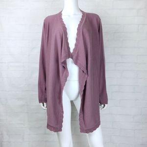 Ann Taylor Open Front Cardigan Sweater